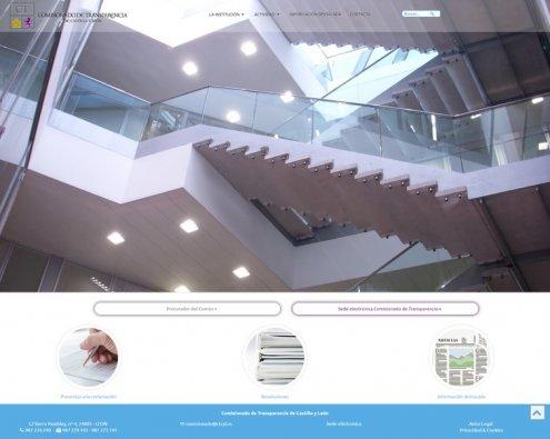 Imagen El Comisionado de Transparencia de Castilla y León actualiza su página web